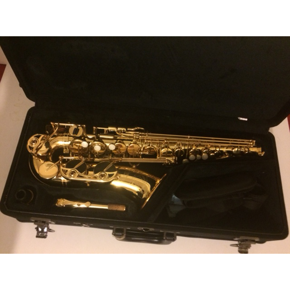 yamaha yas 62 alto saxophone gold lacquer sold. Black Bedroom Furniture Sets. Home Design Ideas