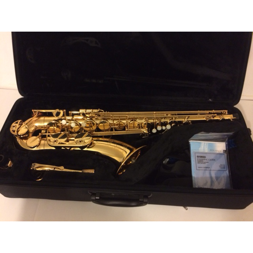 yamaha yts 480 tenor saxophone gold lacquer sold the sax shack. Black Bedroom Furniture Sets. Home Design Ideas
