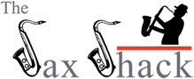 The Saxshack Logo